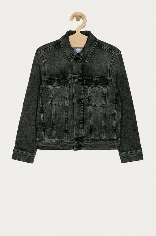 gri Calvin Klein Jeans - Geaca de blugi pentru copii 128-176 cm De băieți