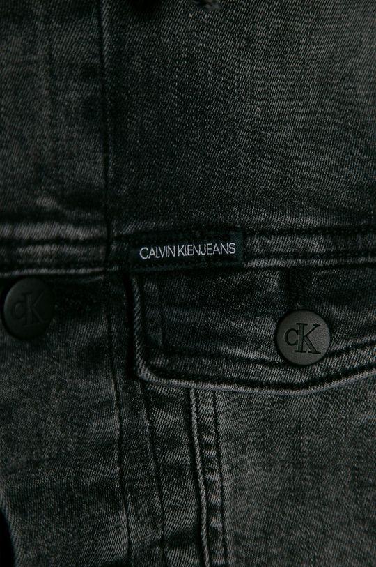 gri Calvin Klein Jeans - Geaca de blugi pentru copii 128-176 cm