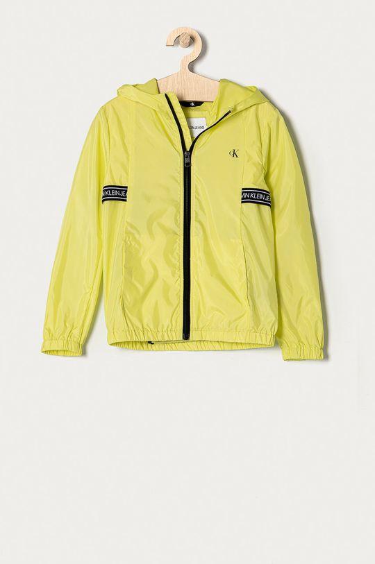jasny żółty Calvin Klein Jeans - Kurtka dziecięca 128-176 cm Chłopięcy