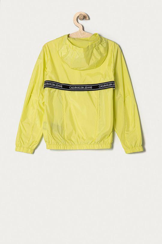 Calvin Klein Jeans - Kurtka dziecięca 128-176 cm jasny żółty