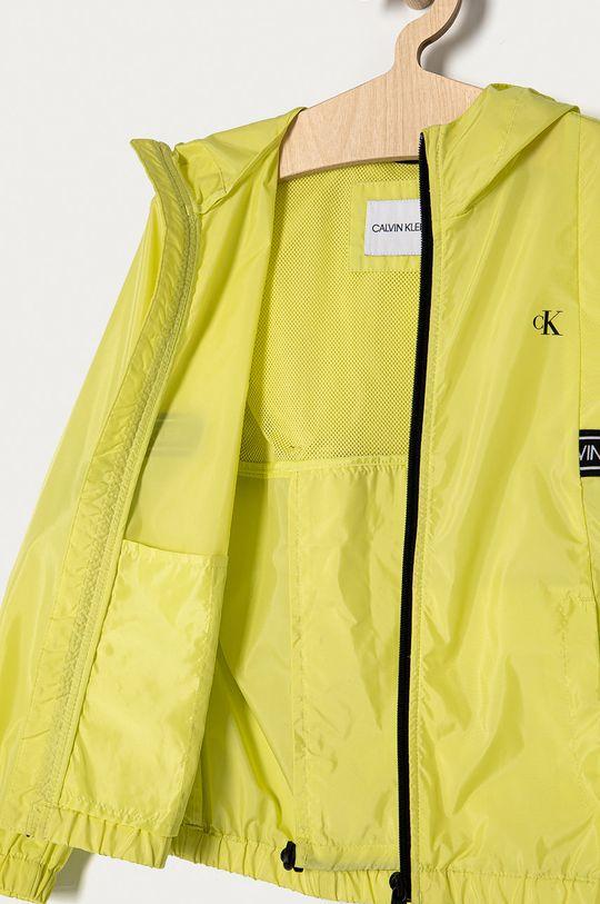 jasny żółty Calvin Klein Jeans - Kurtka dziecięca 128-176 cm