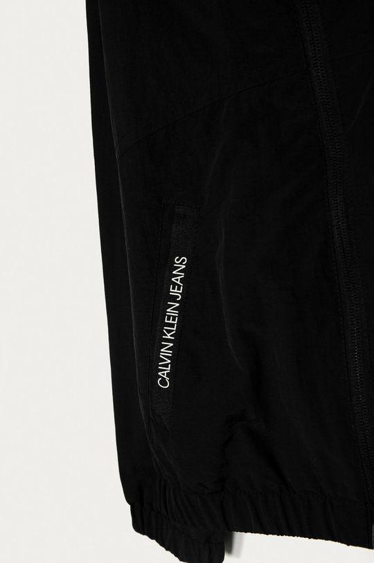 Calvin Klein Jeans - Detská bunda 128-176 cm čierna