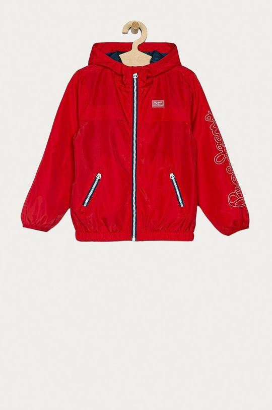 červená Pepe Jeans - Dětská bunda Alan 128-180 cm Chlapecký