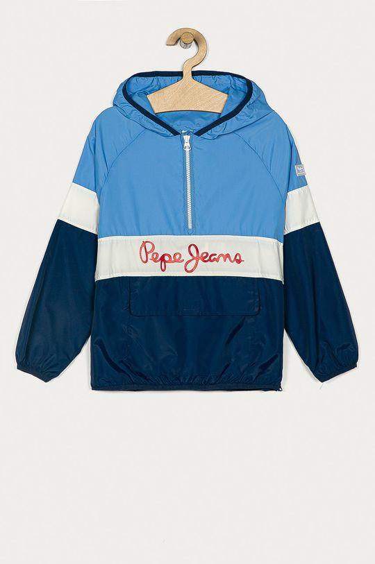 modrá Pepe Jeans - Dětská bunda Matt 128-178 cm Chlapecký