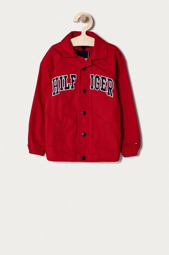 czerwony Tommy Hilfiger - Kurtka jeansowa dziecięca 104-176 cm Chłopięcy