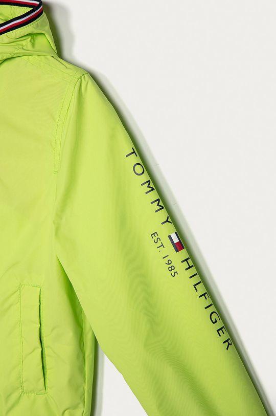 Tommy Hilfiger - Detská bunda 104-176 cm žlto-zelená