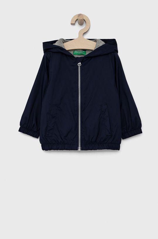 námořnická modř United Colors of Benetton - Dětská bunda Chlapecký