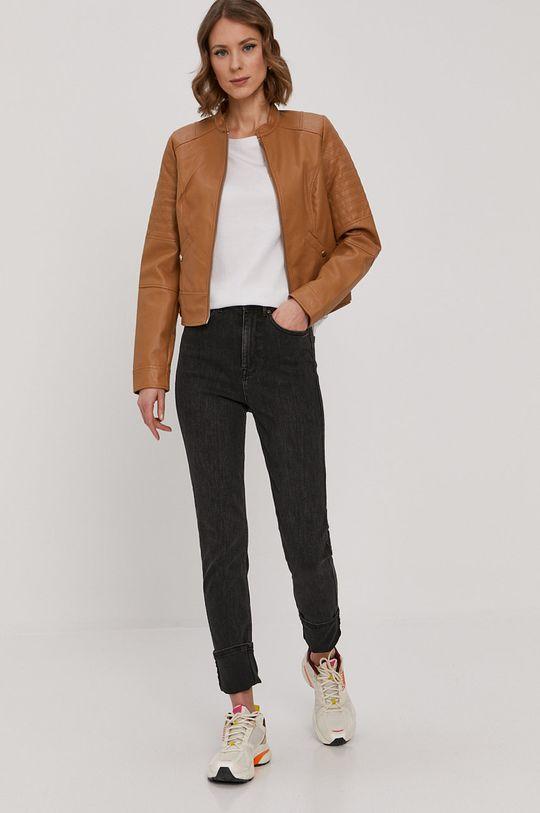 Vero Moda - Kurtka brązowy