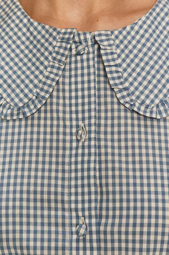 Jacqueline de Yong - Bavlněné tričko fialová