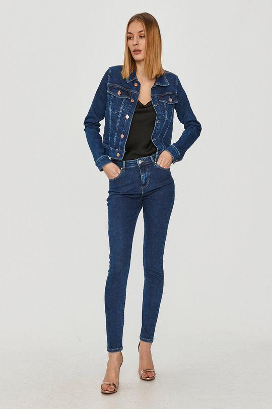 Guess - Kurtka jeansowa granatowy