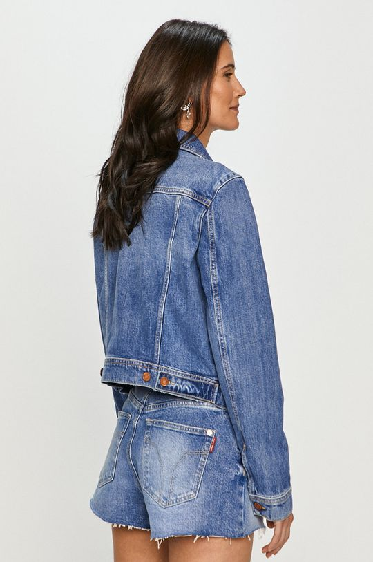 Guess - Kurtka jeansowa 100 % Bawełna