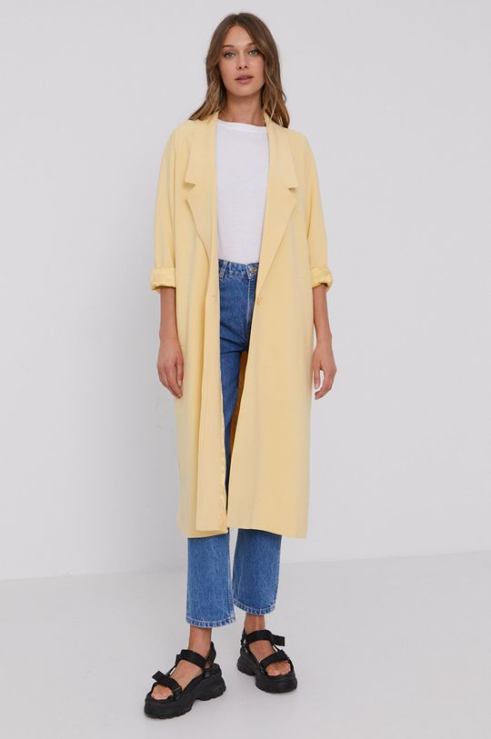 Samsoe Samsoe - Kabát jasně žlutá