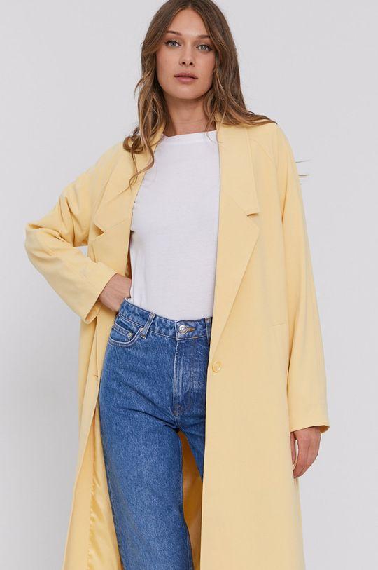 jasně žlutá Samsoe Samsoe - Kabát