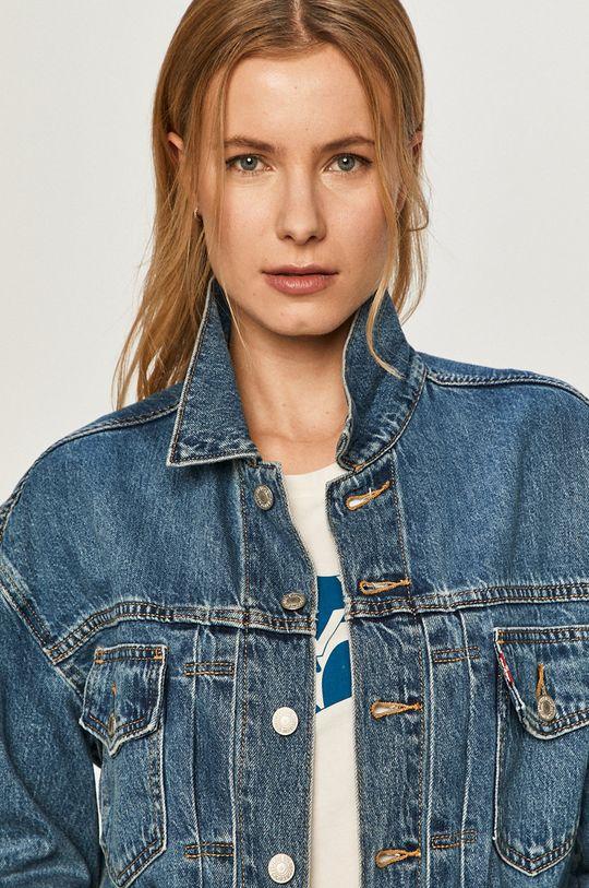 niebieski Levi's - Kurtka jeansowa