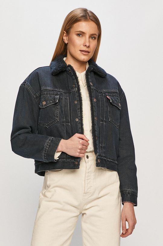 Levi's - Kurtka jeansowa granatowy
