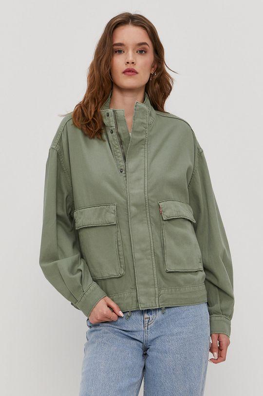 verde murdar Levi's - Geaca jeans De femei