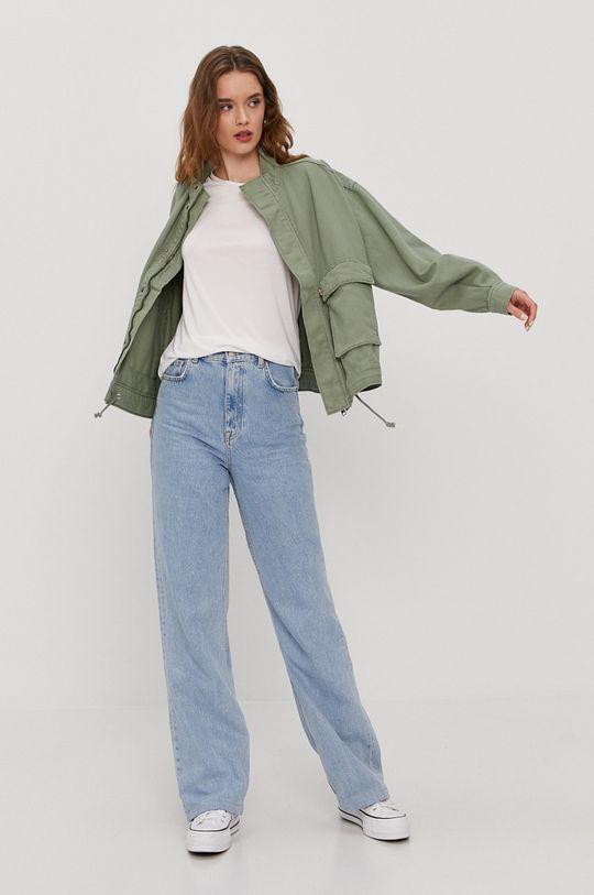 Levi's - Geaca jeans verde murdar
