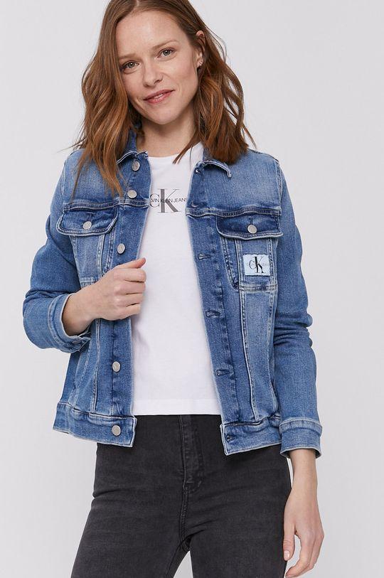 niebieski Calvin Klein Jeans - Kurtka jeansowa Damski