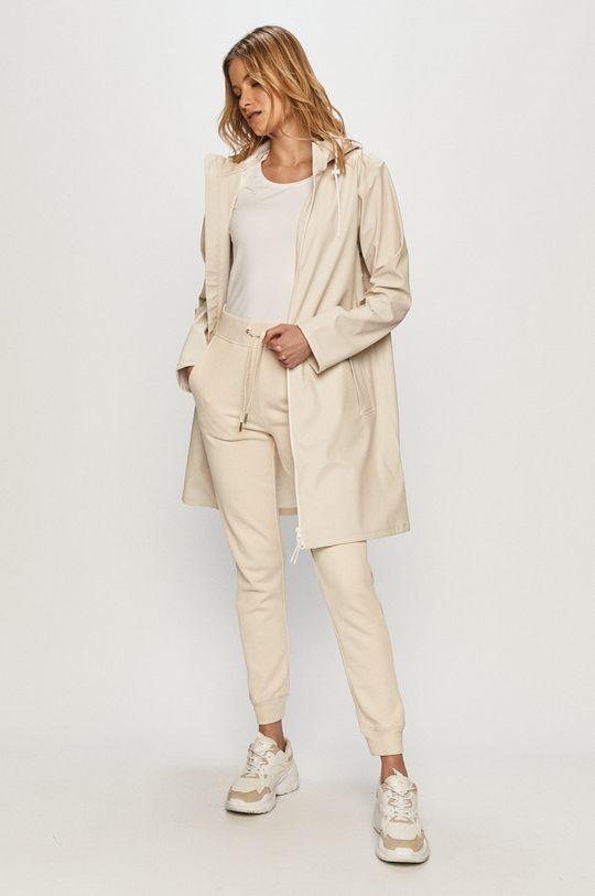 piesková Calvin Klein Jeans - Nepremokavá bunda Dámsky