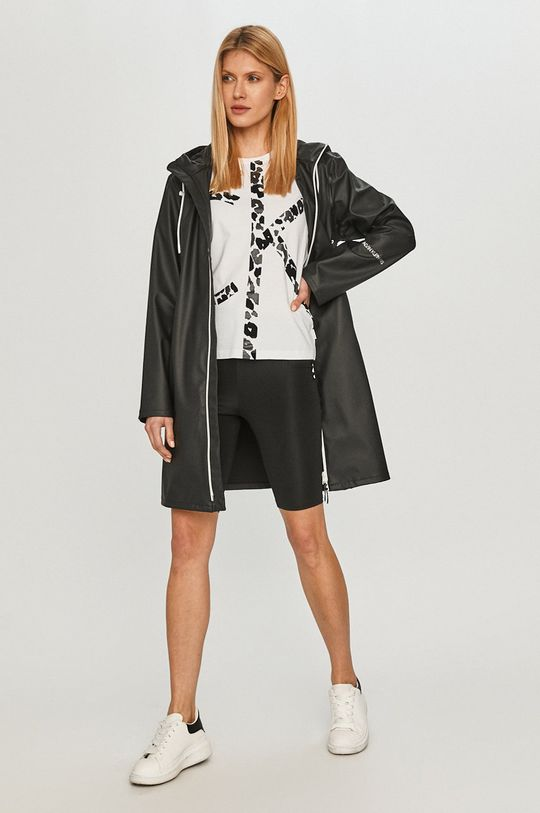 Calvin Klein Jeans - Nepremokavá bunda čierna