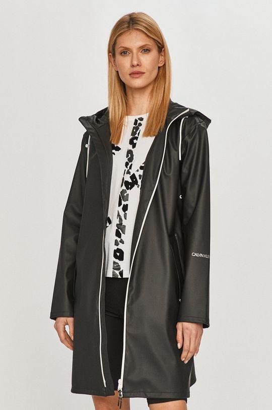 čierna Calvin Klein Jeans - Nepremokavá bunda