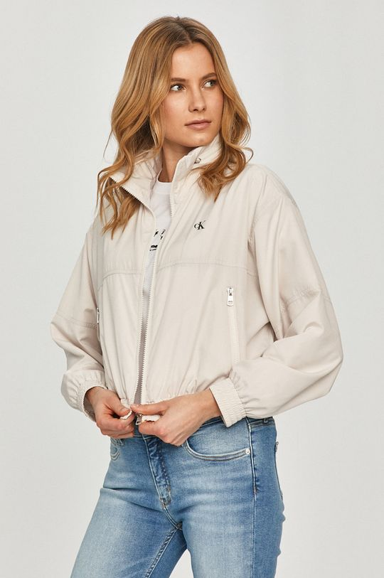 piesková Calvin Klein Jeans - Bunda Dámsky