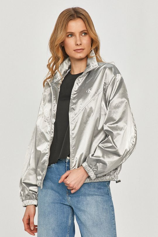 argintiu Calvin Klein Jeans - Geaca De femei