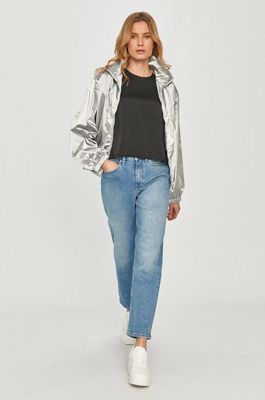 Calvin Klein Jeans - Geaca argintiu