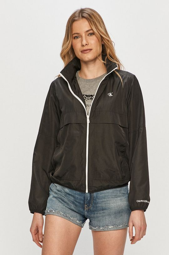 negru Calvin Klein Jeans - Geaca