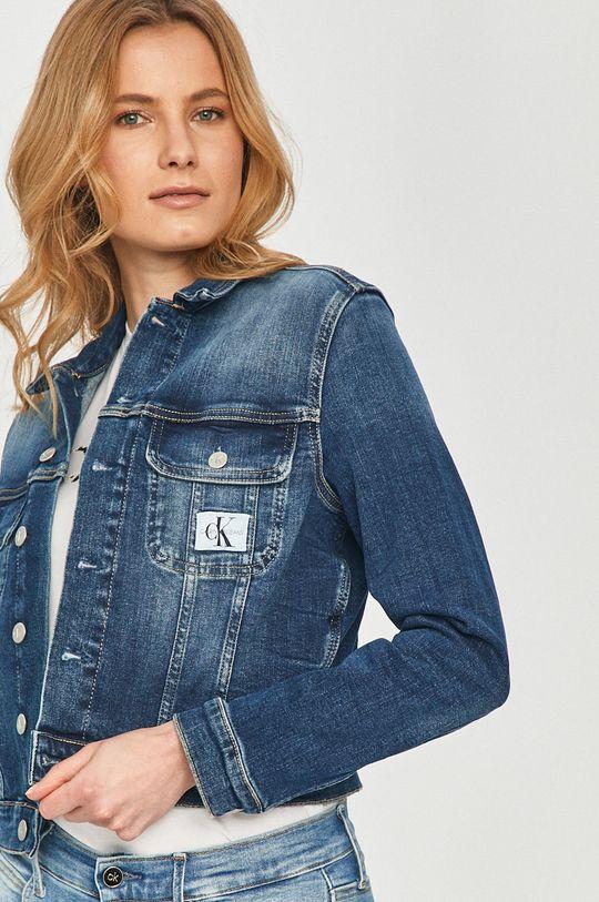Calvin Klein Jeans - Rifľová bunda  98% Bavlna, 2% Elastan