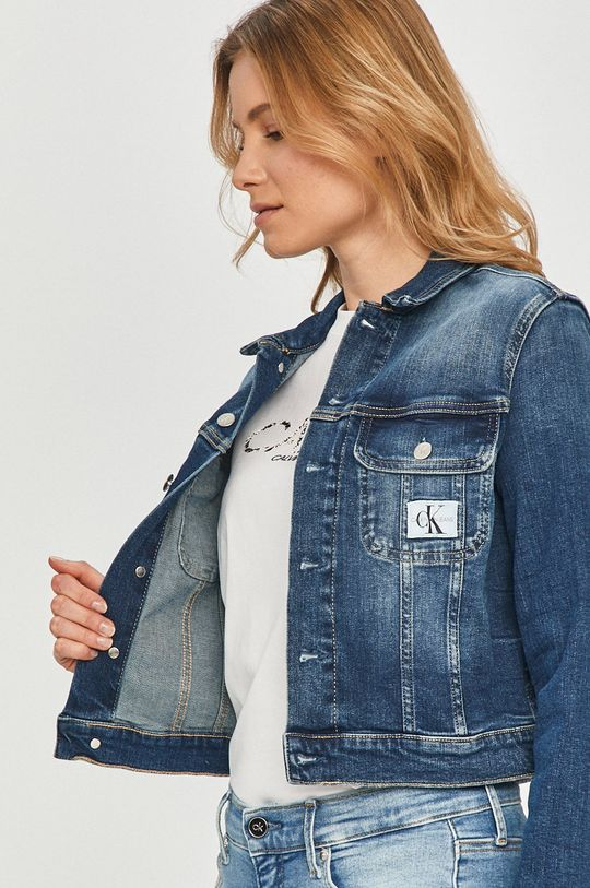 Calvin Klein Jeans - Rifľová bunda