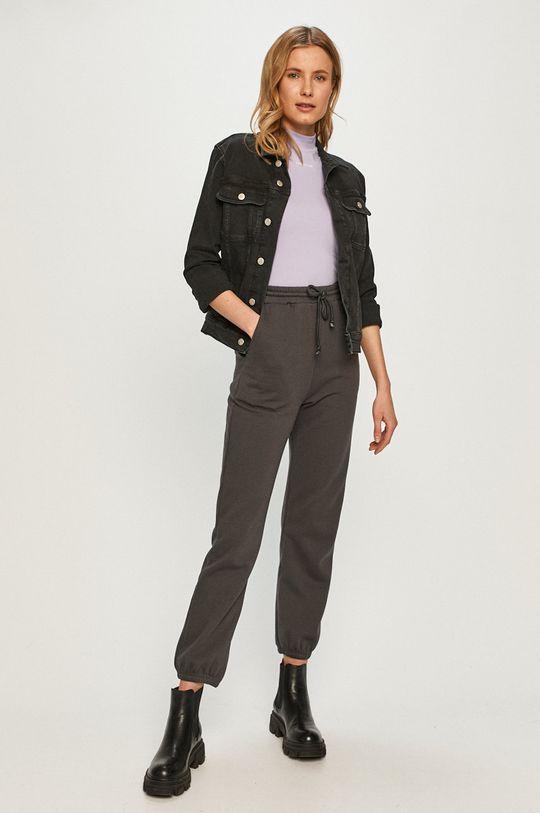 Calvin Klein Jeans - Kurtka jeansowa czarny