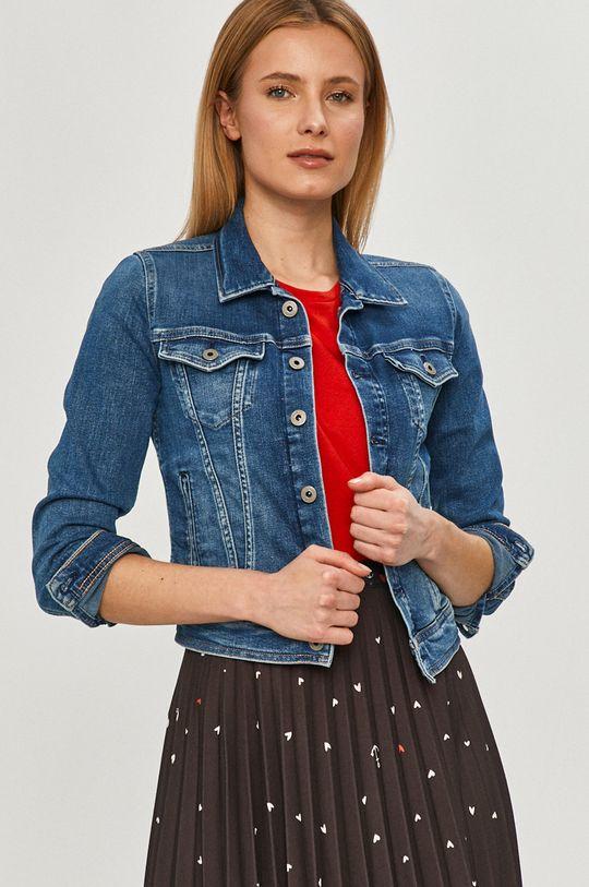 niebieski Pepe Jeans - Kurtka jeansowa Core Damski