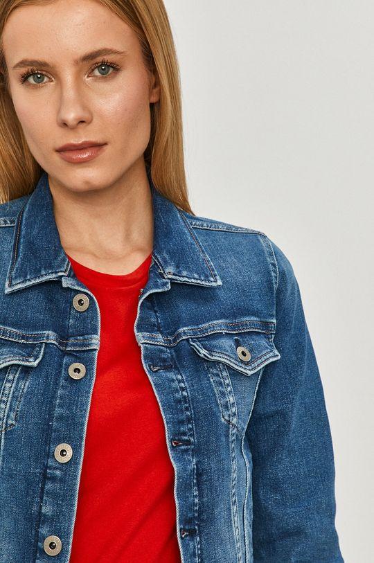 niebieski Pepe Jeans - Kurtka jeansowa Core