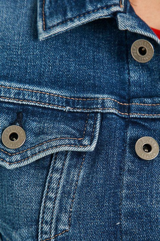 Pepe Jeans - Kurtka jeansowa Core Damski