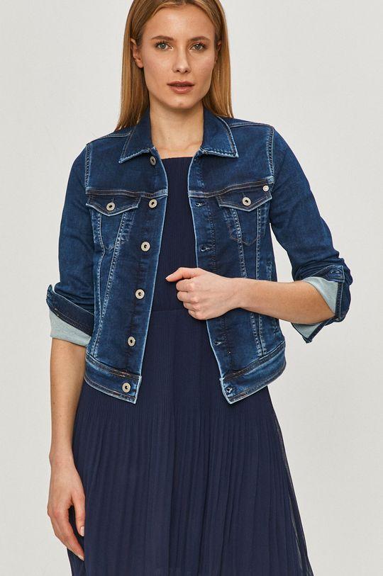 modrá Pepe Jeans - Rifľová bunda Core Dámsky