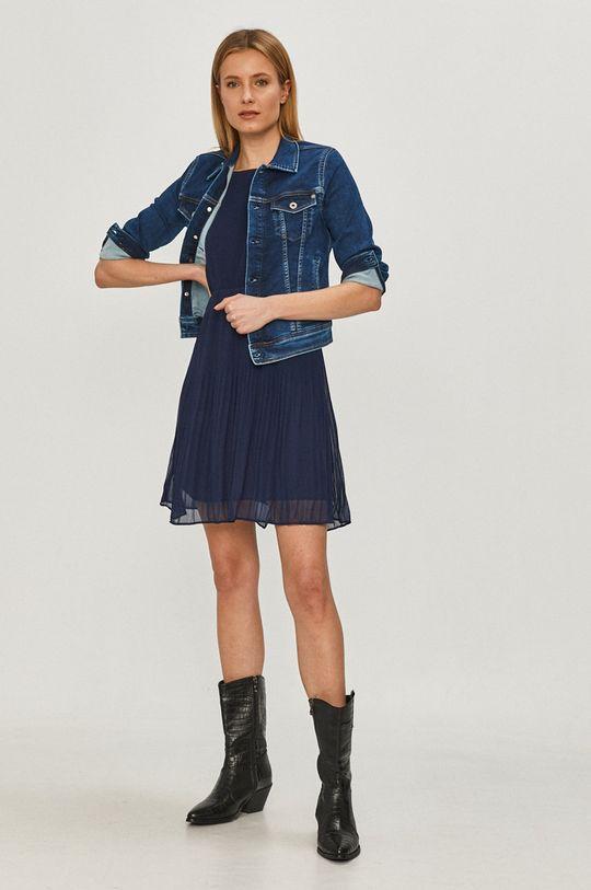Pepe Jeans - Rifľová bunda Core modrá