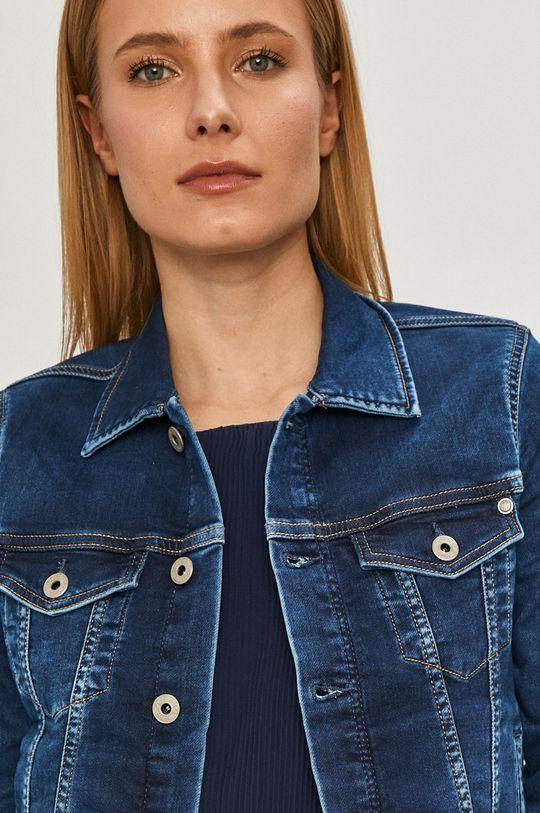 modrá Pepe Jeans - Rifľová bunda Core