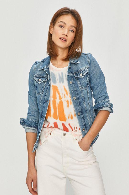 modrá Pepe Jeans - Džínová bunda Thrift Dámský