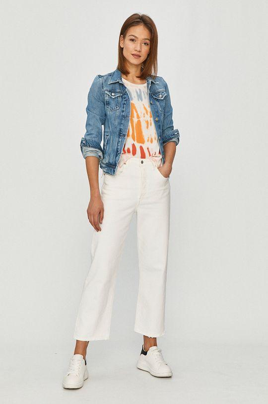 Pepe Jeans - Džínová bunda Thrift modrá