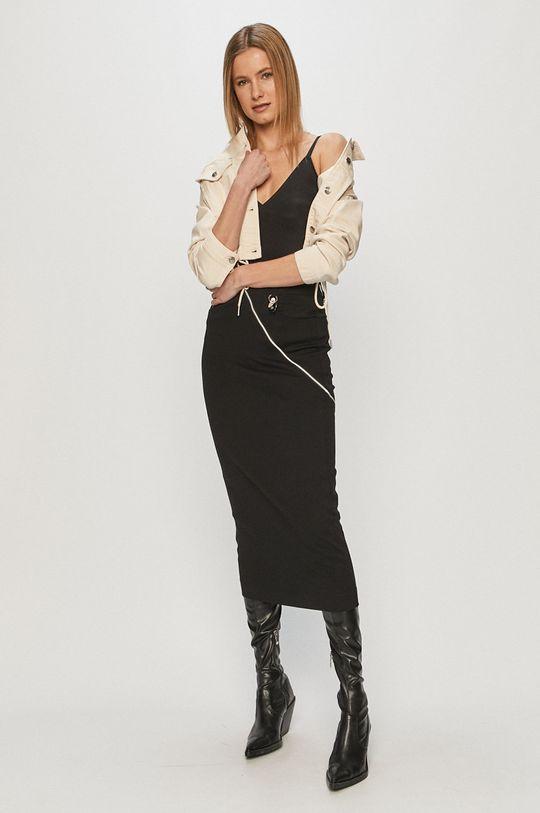 Pepe Jeans - Džínová bunda Tiffany Archive bílá