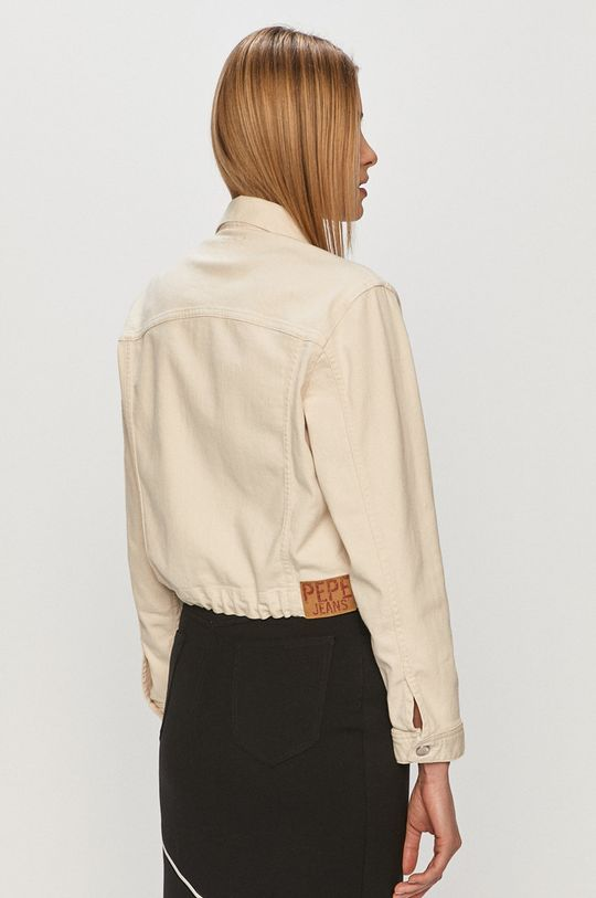 Pepe Jeans - Džínová bunda Tiffany Archive  Hlavní materiál: 93% Bavlna, 2% Elastan, 5% Polyester Podšívka kapsy: 35% Bavlna, 65% Polyester