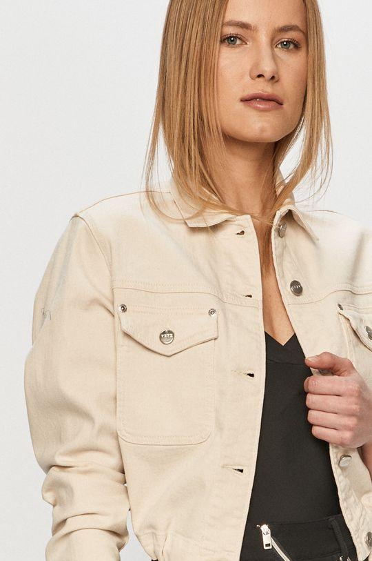 bílá Pepe Jeans - Džínová bunda Tiffany Archive