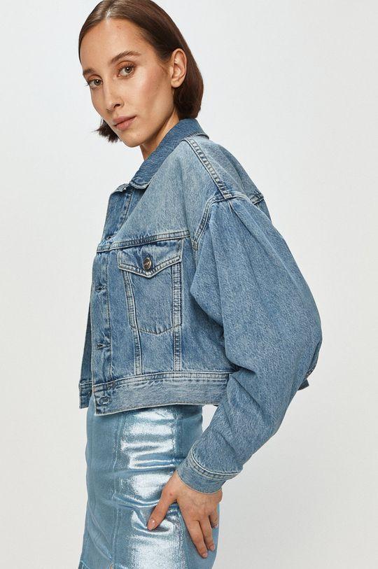 modrá Pepe Jeans - Džínová bunda Ridge Dámský