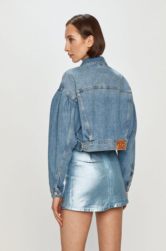 Pepe Jeans - Džínová bunda Ridge  100% Bavlna