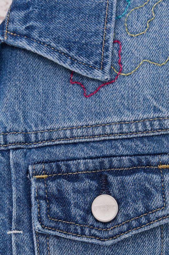 Pepe Jeans - Vesta de blugi Elsie De femei