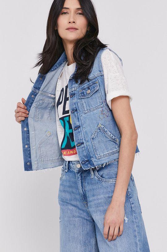 Pepe Jeans - Vesta de blugi Elsie