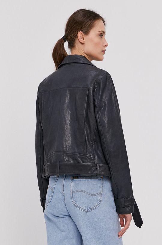 Pepe Jeans - Kožená ramoneska Amelia  Podšívka: 100% Polyester Hlavní materiál: 100% Ovčí kůže