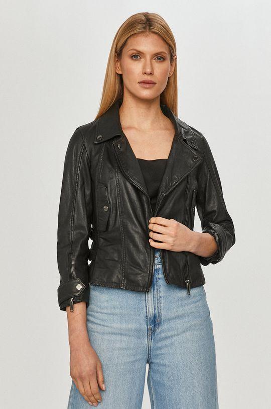MAX&Co. - Kožená bunda čierna