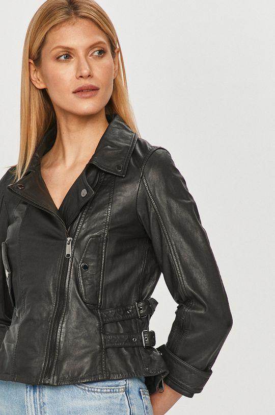 čierna MAX&Co. - Kožená bunda